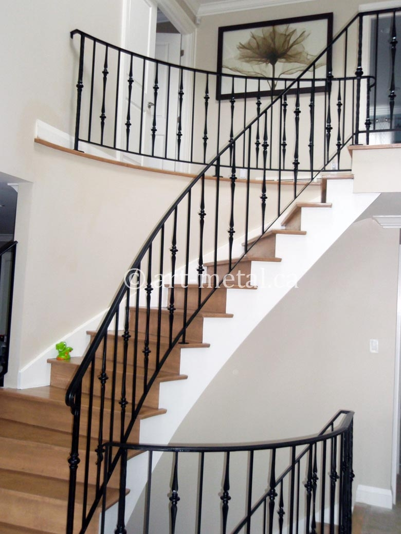 Contemporary Interior Stair Railings For Your Modern Home   Indoor Railings For Steps