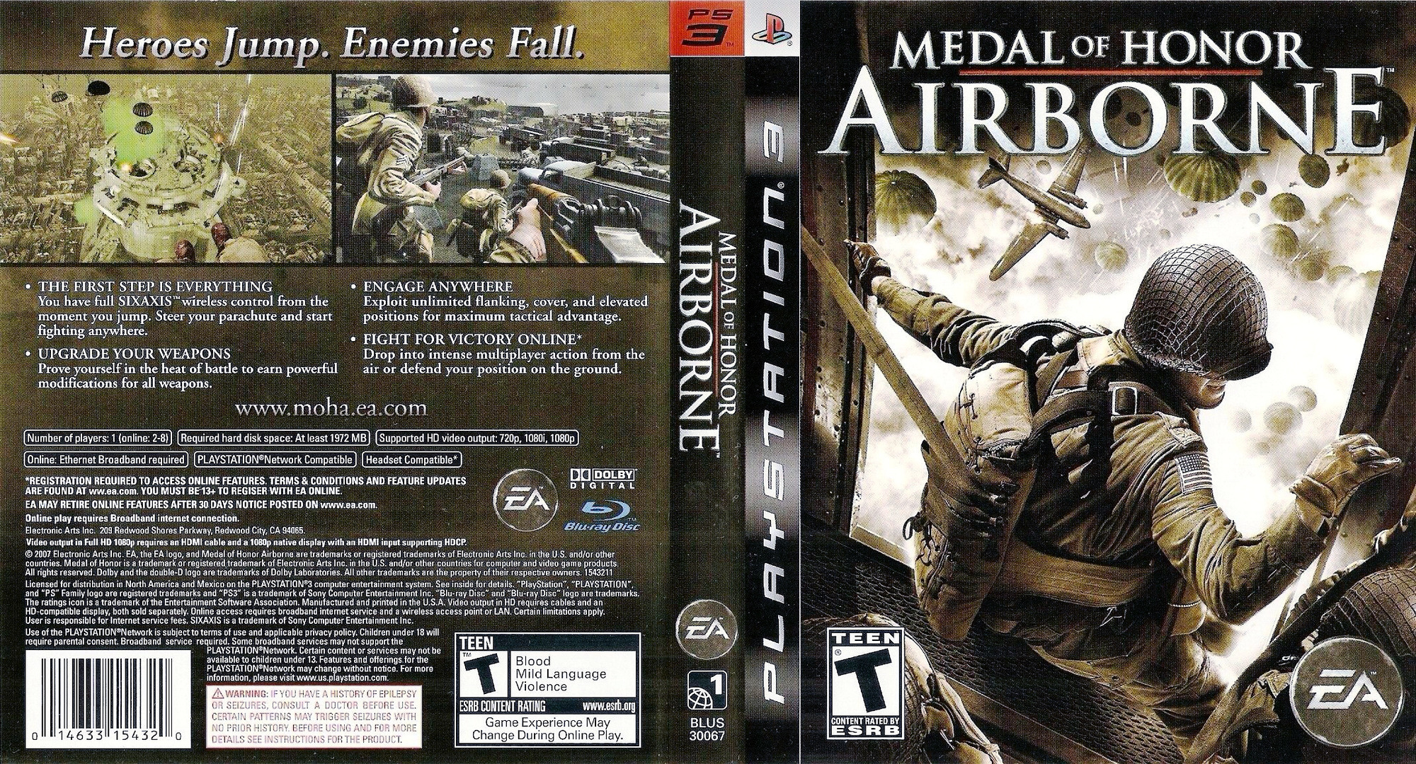 Blus30067 Medal Of Honor Airborne