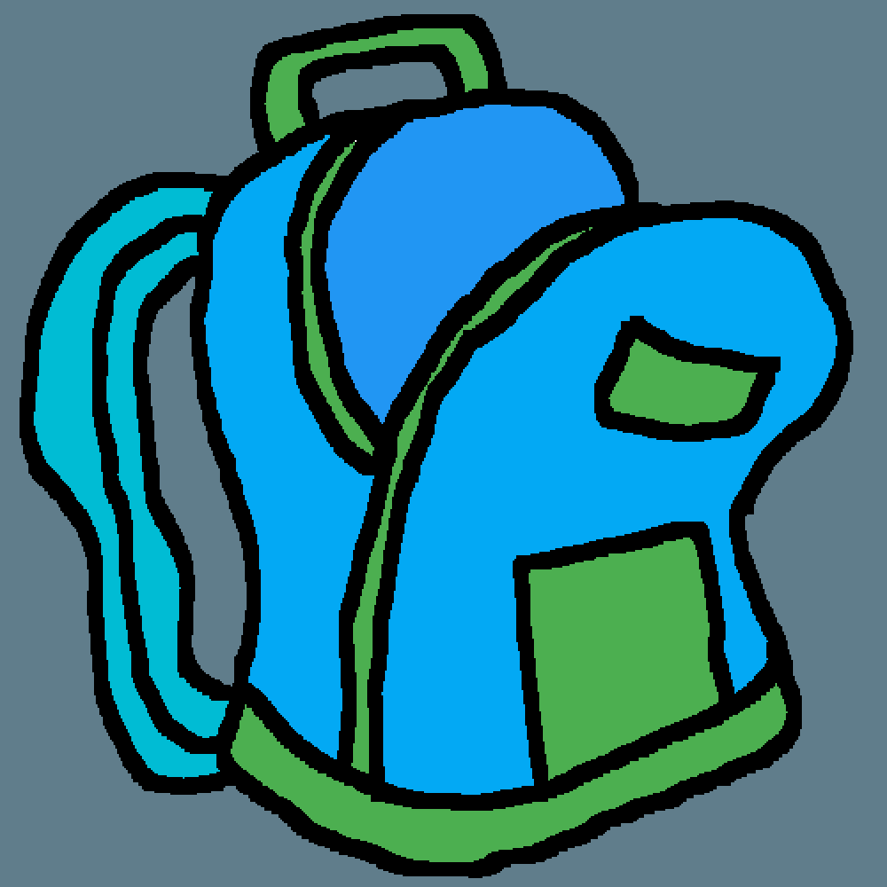 open backpack picture - 1000×1000