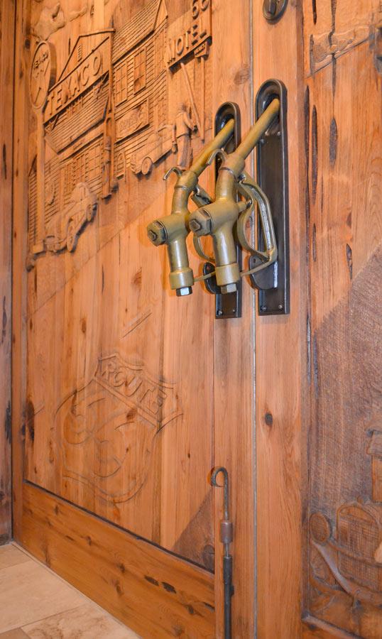 Gas Nozzle Door Pulls Route 66 Visible Gas Pumps