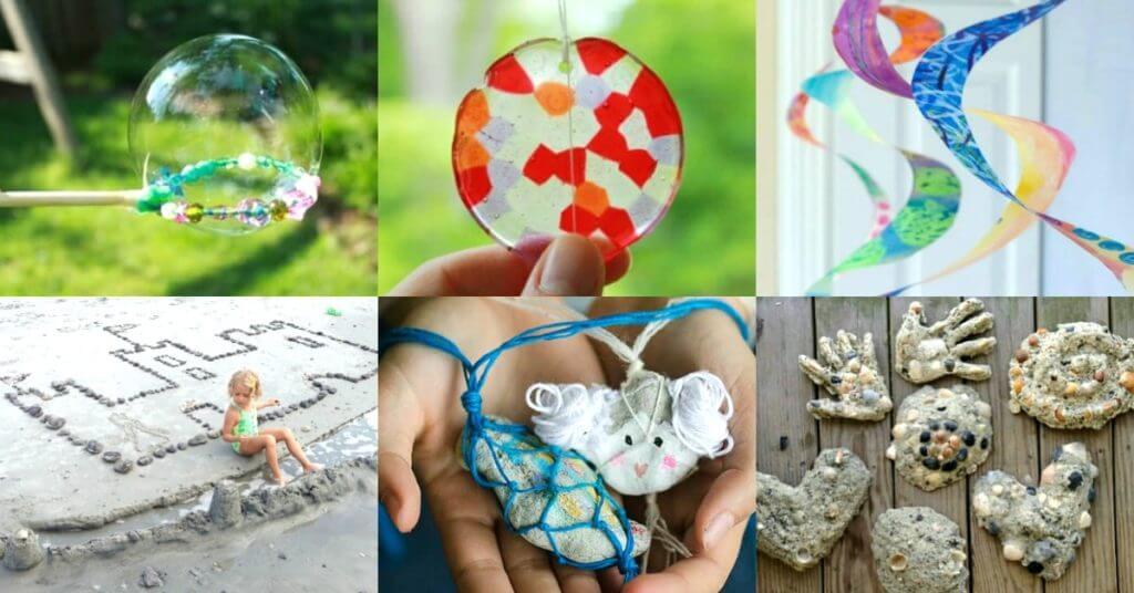 Preschool Fun Art Beach Projects