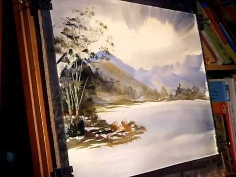 Steven Cronin A Watercolor Painting Tutorial In The Lake