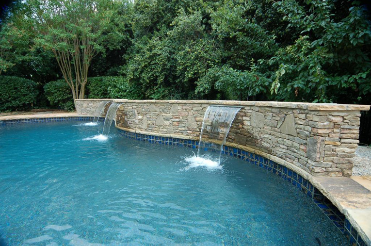 Above Ground Pool Garden Design
