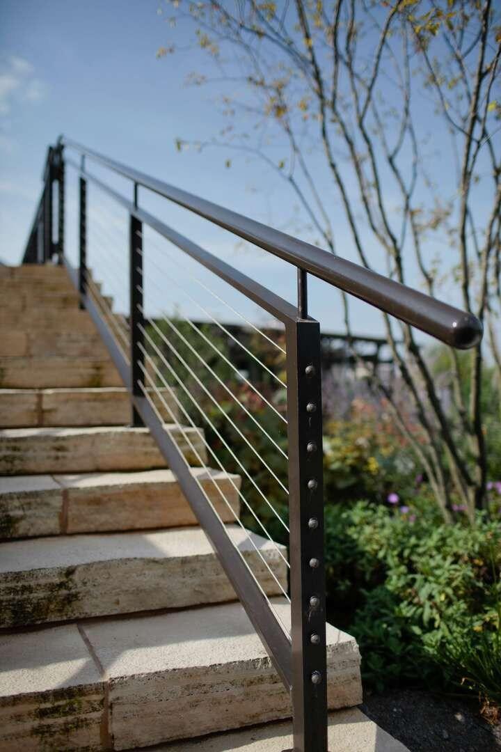 Iron Railings Fences Gates Custom Designed For Your Home | Outdoor Metal Stair Railing | Ornamental | Banister | Custom | Urban Metal Deck | Garden