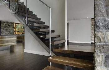 Current Trends Modern Staircase Systems Using Glass And | Stainless Steel Staircase Railing Designs | Curved | Elegant | Balcony | Balustrade | Mono Stringer Steel