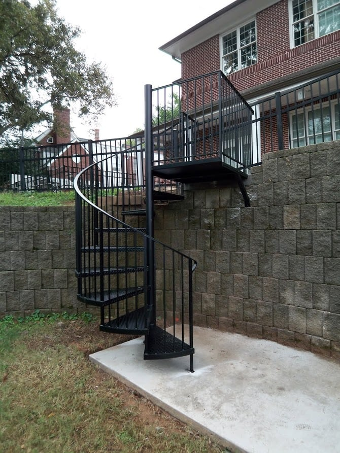 Exterior Stairs Design Amp Construction Artistic Stairs
