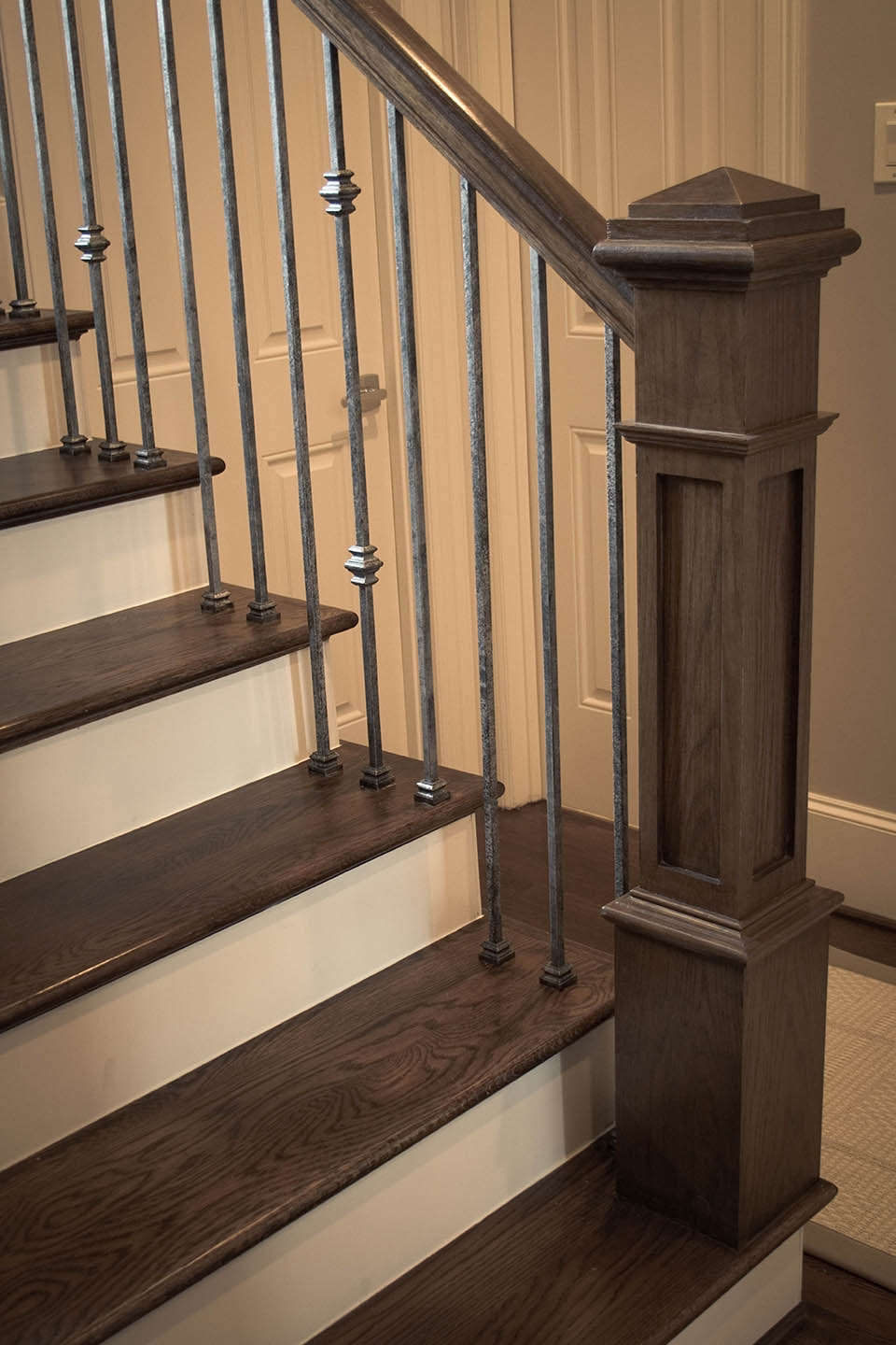Craftsman Staircase Design Artistic Stairs | Craftsman Style Stair Railing