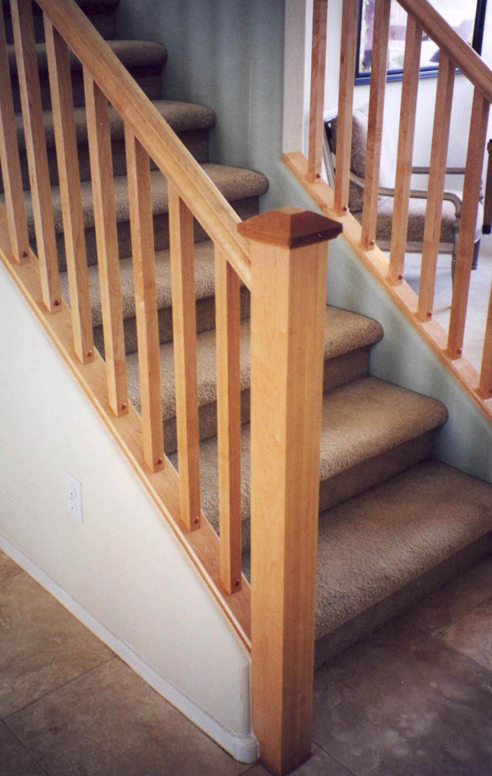 Mission Style Staircase Amp Railings Artistic Stairs
