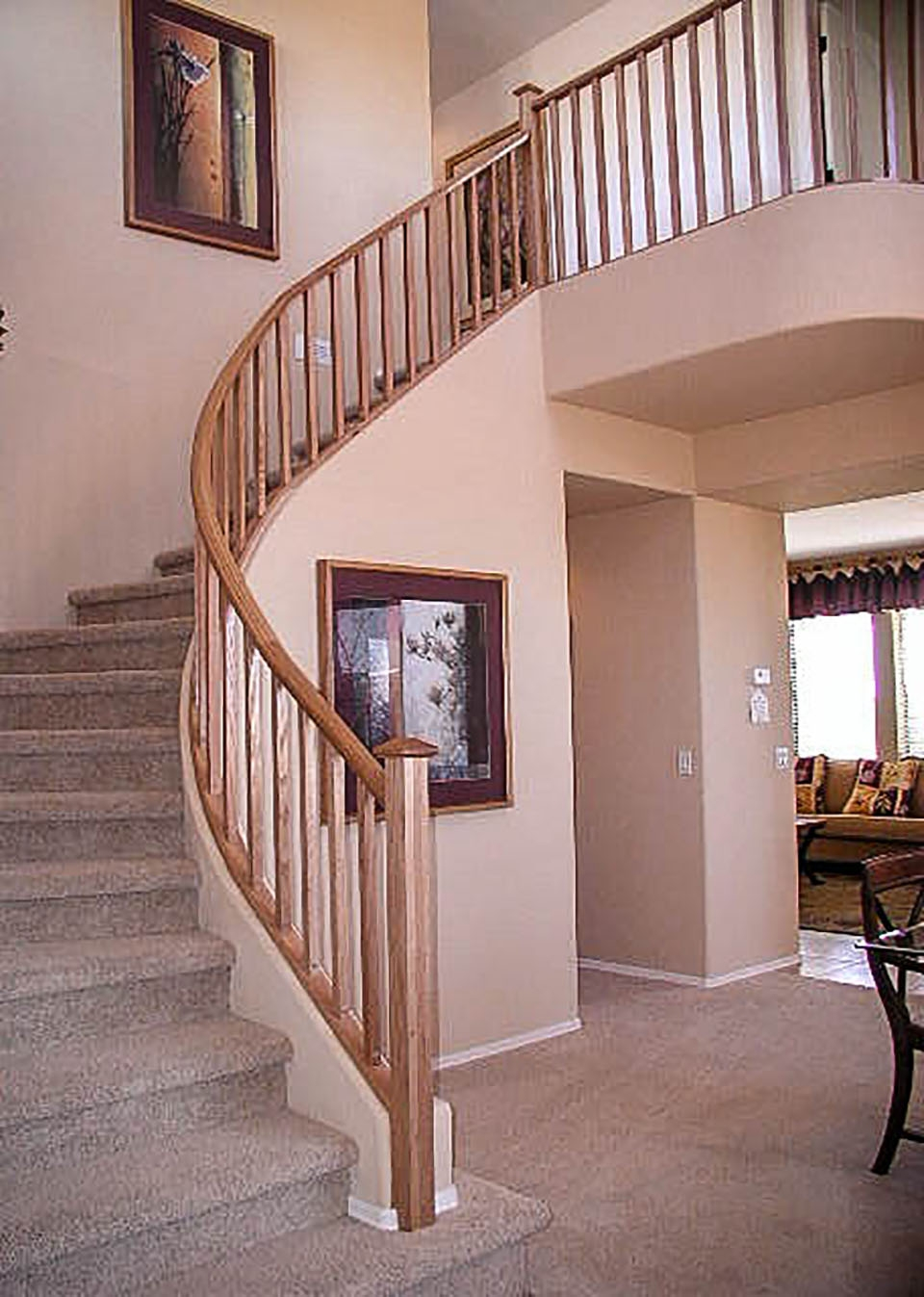 Mission Style Staircase Railings Artistic Stairs | Craftsman Style Stair Railing