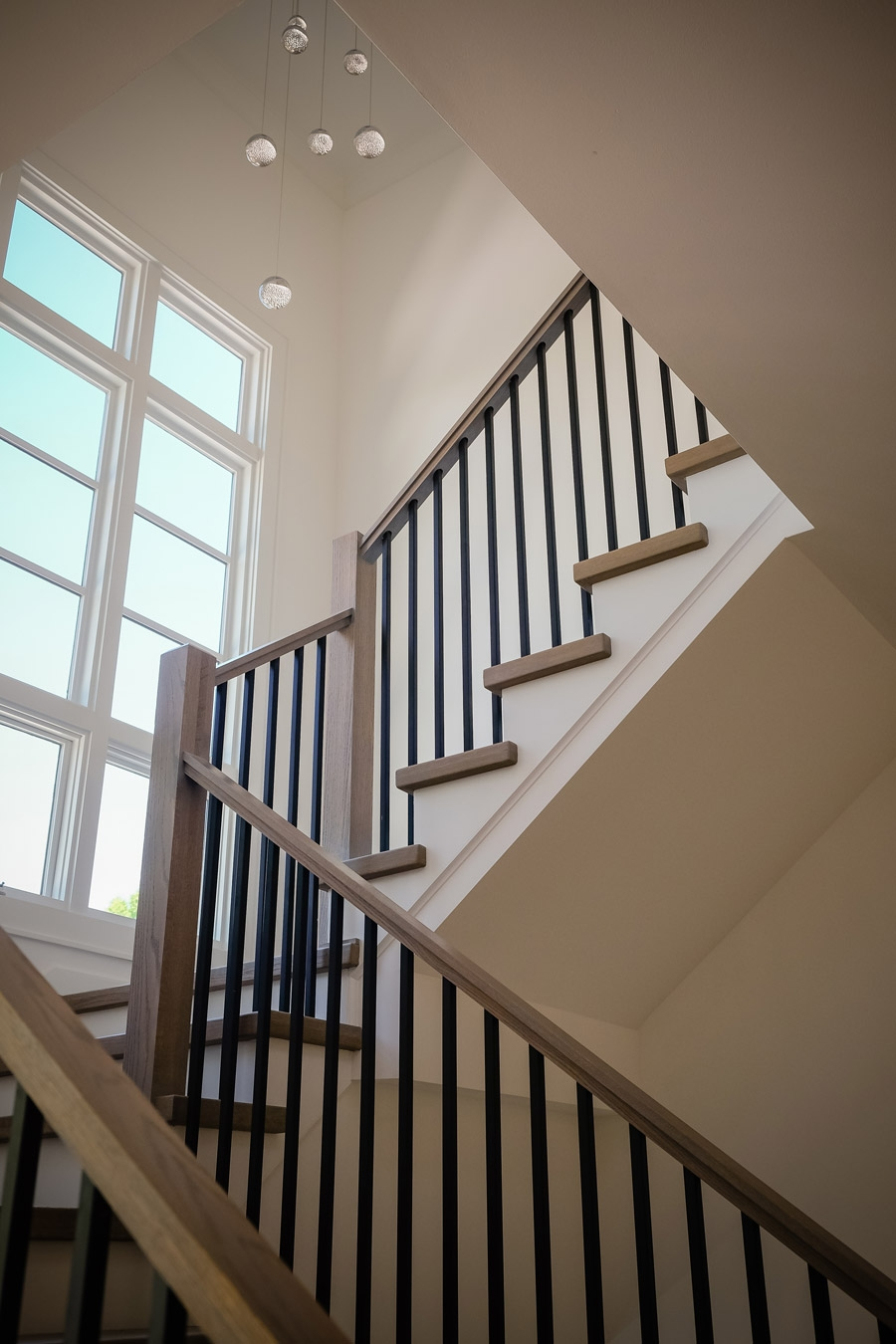 Mission Style Staircase Railings Artistic Stairs   Craftsman Style Stair Railing