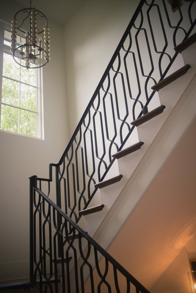 Wrought Iron Stair Railings Process And Design Southern | Wrought Iron Stair Railings Interior Cost | Wood | Cast Iron Spindles | Stair Spindles | Staircase Ideas | Iron Staircase Railings