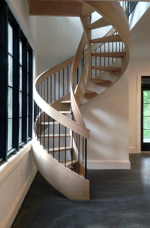 Curved Stairs Southern Staircase Artistic Stairs