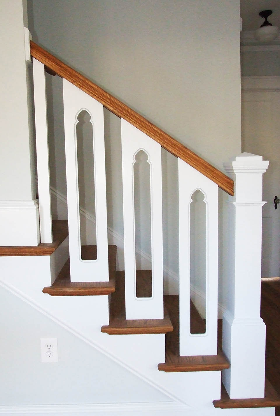 Wooden Baluster System Southern Staircase Artistic Stairs | Wooden Stair Rails And Balusters | Stair Parts | Wrought Iron Balusters | Stair Spindles | Newel Posts | Stair Treads