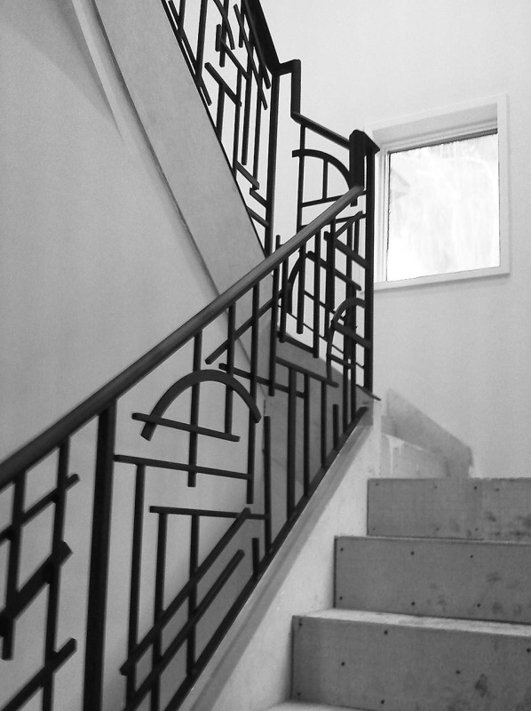 Wrought Iron Stair Railing Southern Staircase Artistic Stairs   Rod Iron Railing For Steps   Custom   Contemporary   Classic   Raw Iron   Rustic