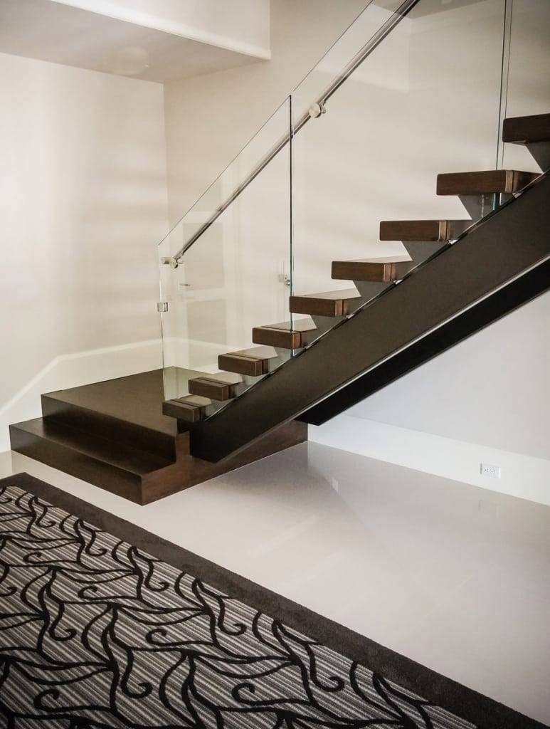 Glass Stainless Southern Staircase Artistic Stairs   Steel Staircase Designs For Homes   New Model   Inside   Railing   Balcony   Unique