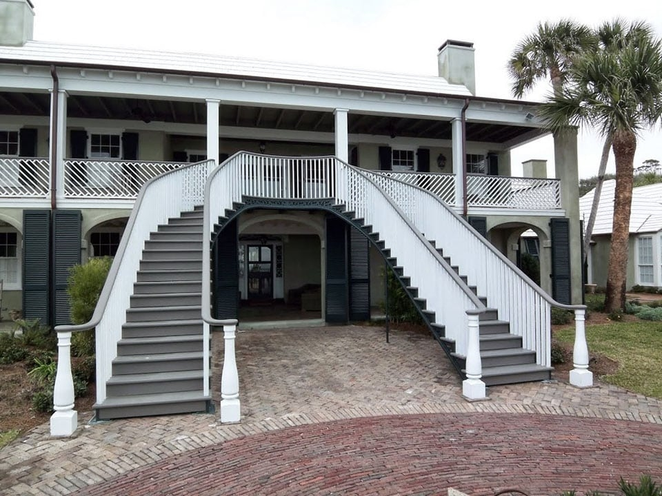 Exterior Stairs Southern Staircase Artistic Stairs | Front House Stairs Design