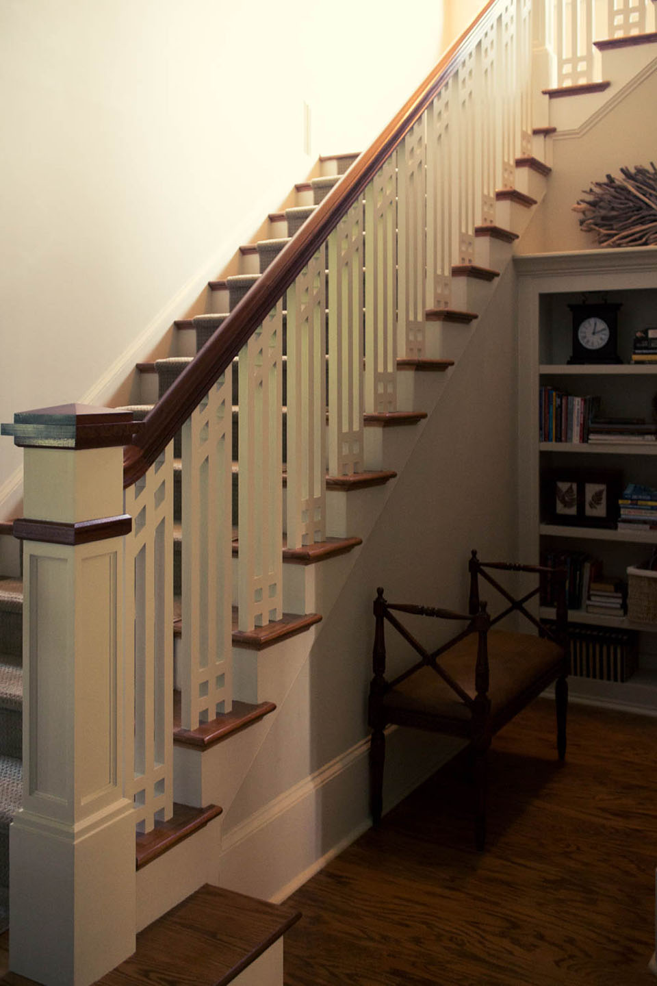 Craftsman Southern Staircase Artistic Stairs