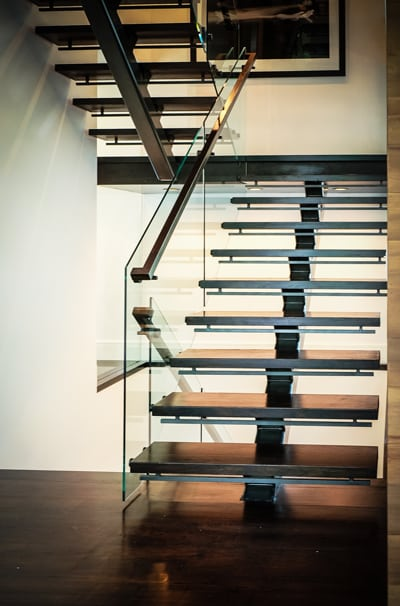 Glass Staircase Southern Staircase Artistic Stairs