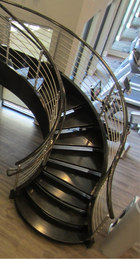 Home Southern Staircase Artistic Stairs | Short Handrail For Stairs | Exterior Handrail Ideas | Deck Railing Ideas | Spiral Staircase | Concrete | Wrought Iron
