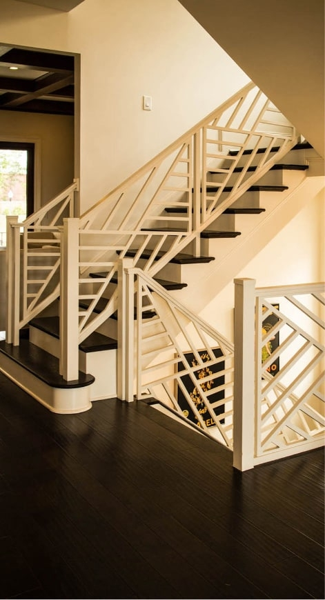 Home Southern Staircase Artistic Stairs   Glass Banister Near Me   Frameless Glass   Curved Staircase   Glass Panels   Modern Staircase Design   Toughened Glass