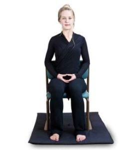Meditația prezintă ședința pe cabană