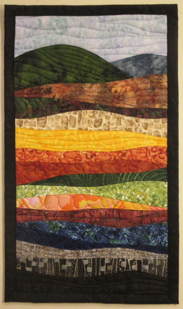 Landscapes Quilts Gallery Art Quilts By Sharon
