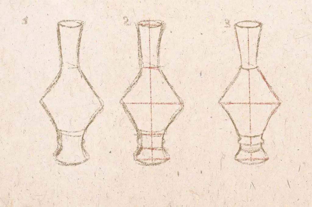 Plavidlo váza napjatá forma