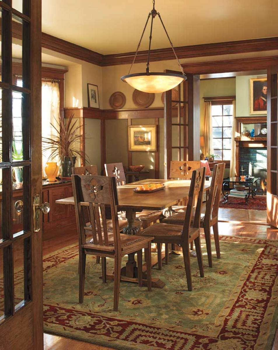 Arts And Crafts Homes Interiors