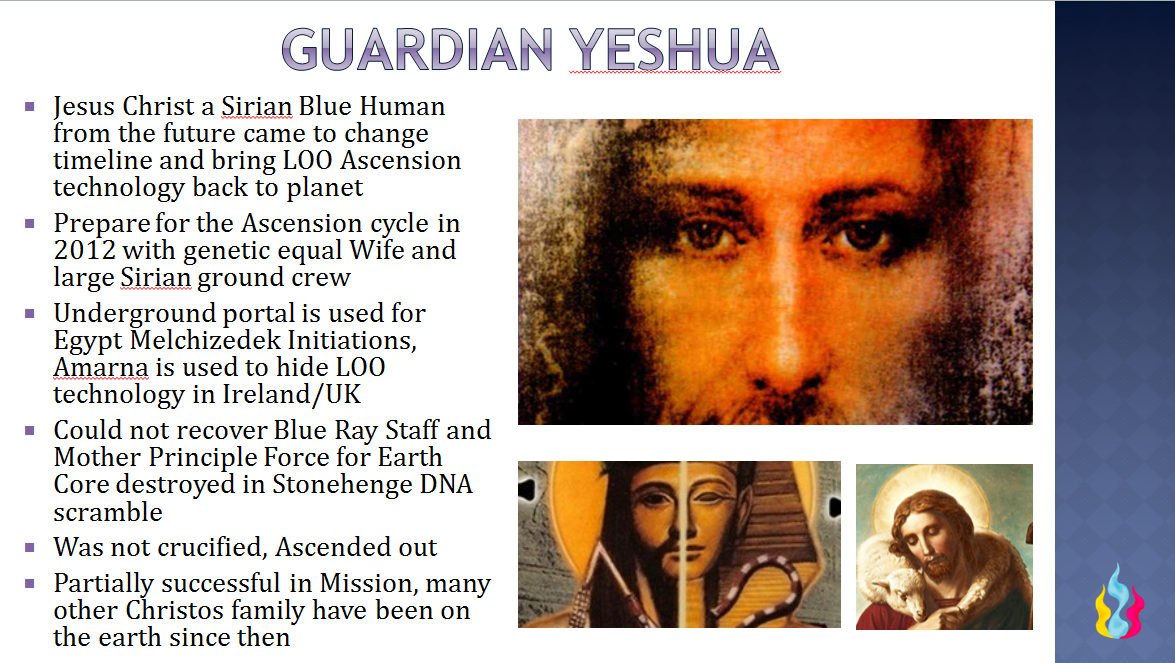 Guardian Yeshua Ascension Glossary