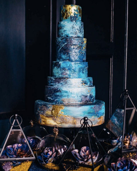 11 of the Best Wedding Cakes on Instagram This Week   Asia Wedding     Beautiful and Unique Wedding Cake Inspirations On Instagram 1