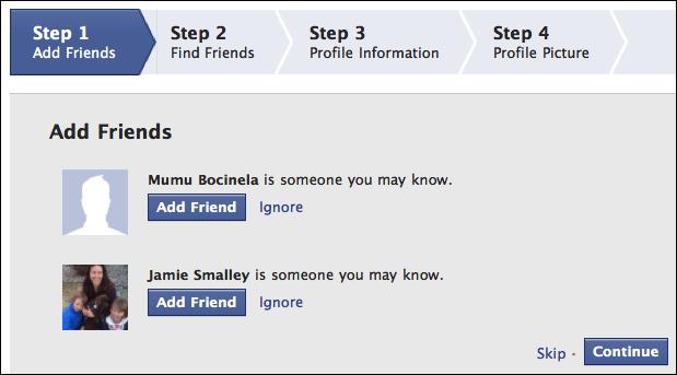Account New New Facebook Create