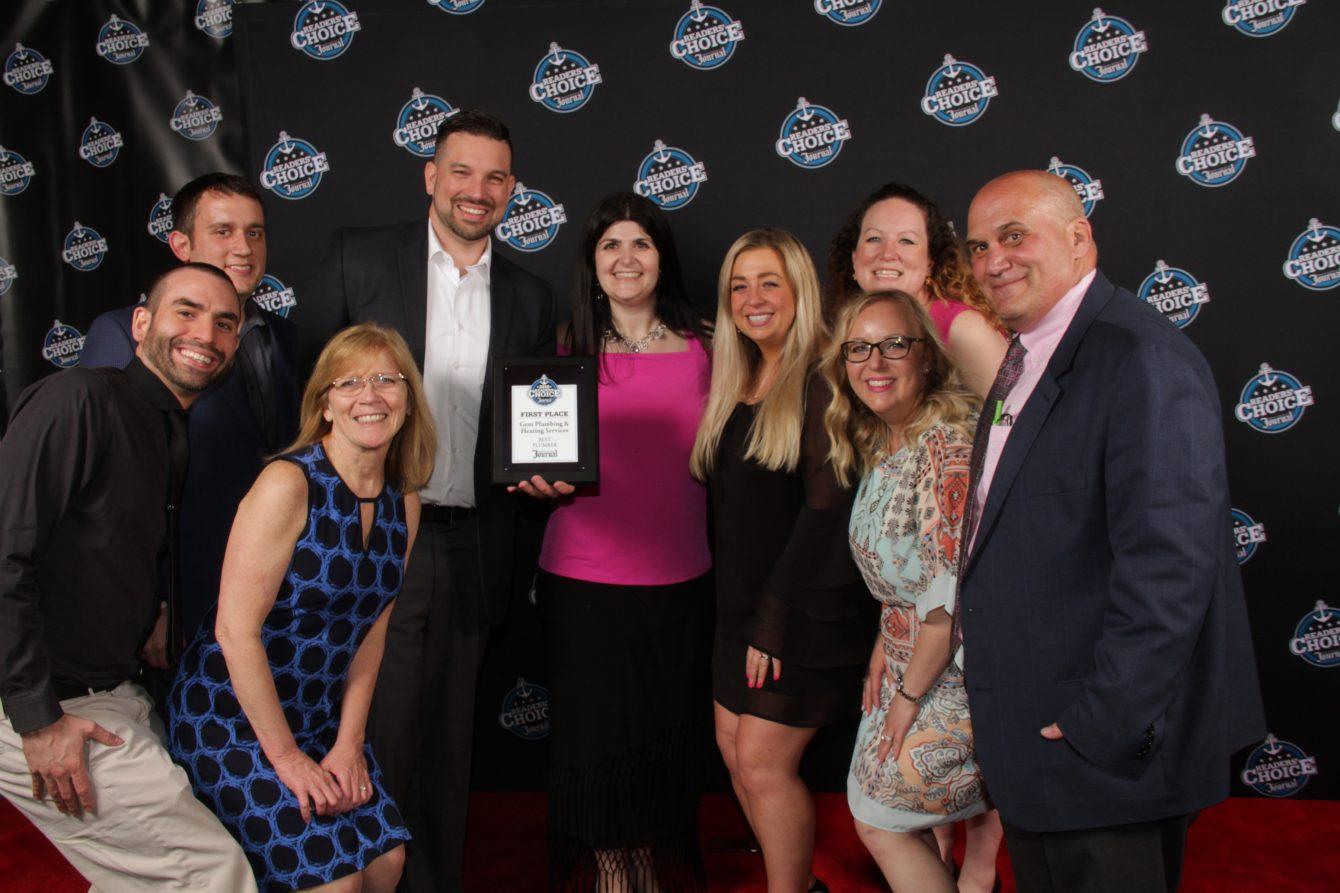 GEM Plumbing & Heating Wins a Readers' Choice Award
