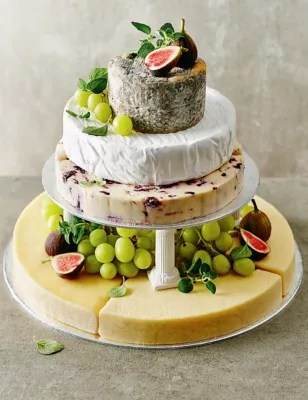Small Cheese Celebration Cake  Serves 50 70    M S Small Cheese Celebration Cake  Serves 50 70