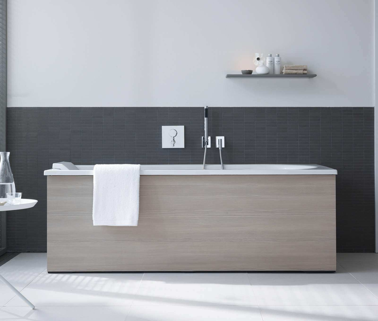 Duravit Darling New 1700x750mm Left Hand Bath With Combi