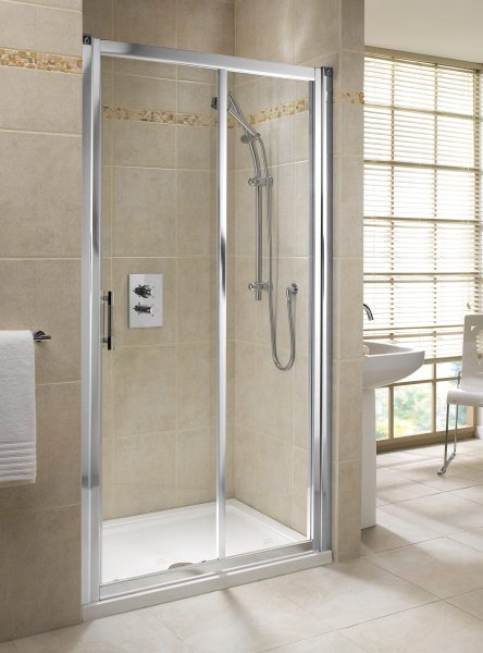 Twyford Geo6 1000mm Sliding Shower Door Left Or Right Hand   G66503CP Twyford Geo6 1000mm Sliding Shower Door Left Or Right Hand