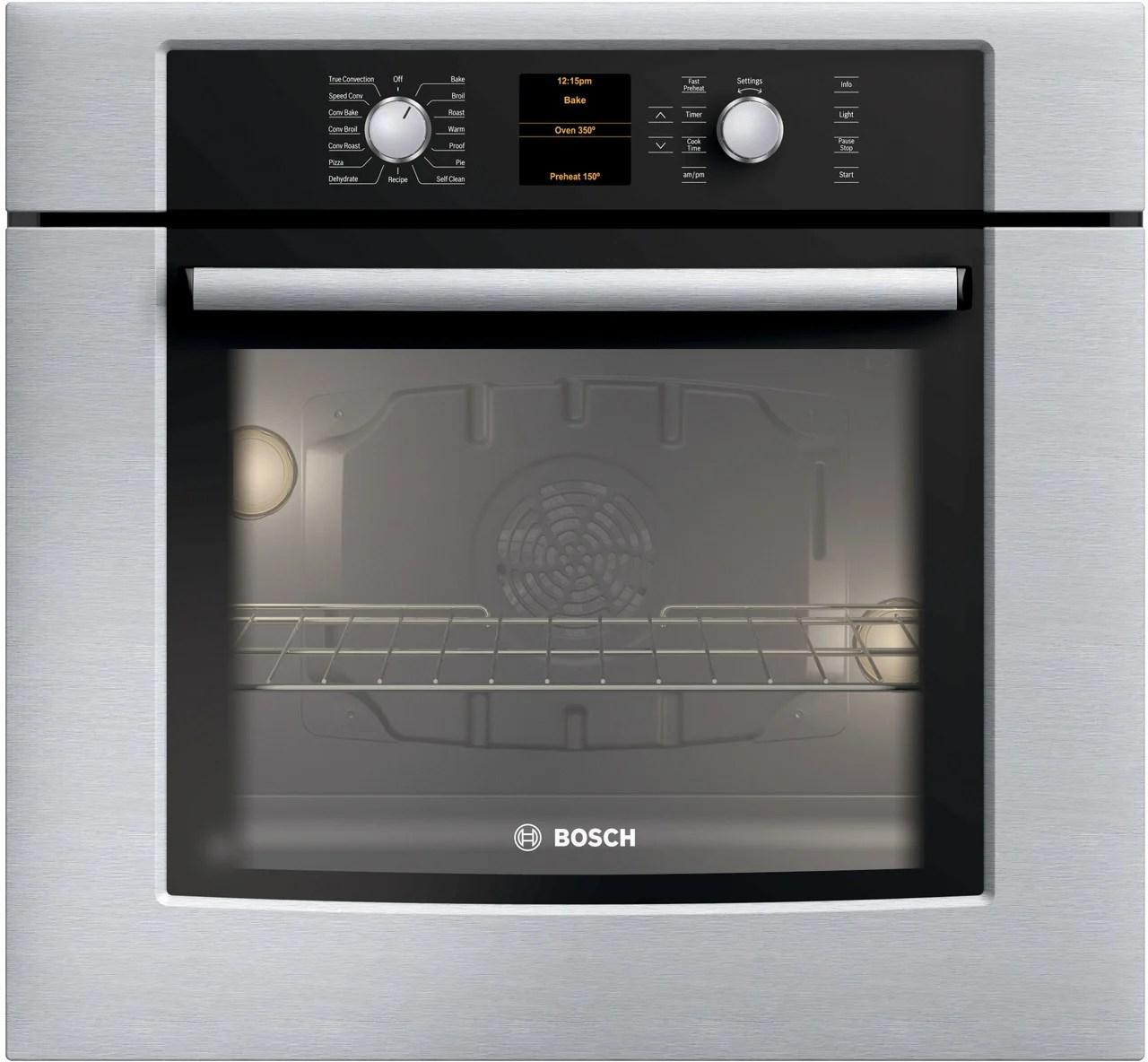 Bosch Double Oven Gas Range
