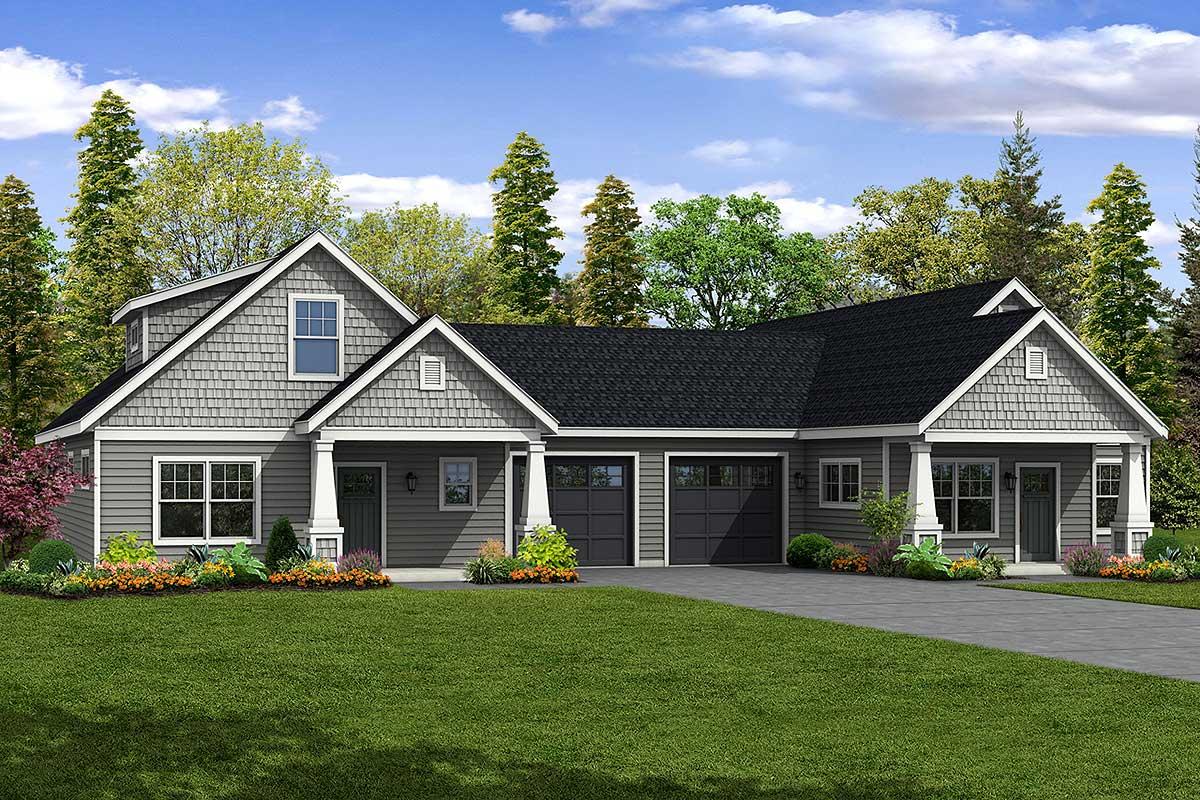 Charming Cottage Duplex With Two Unique Units 72901da