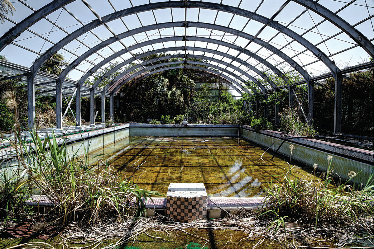 Japan S Abandoned Hotels Are Being Reclaimed By Nature