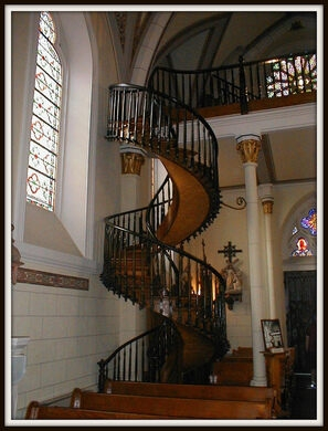 Loretto Chapel – Santa Fe New Mexico Atlas Obscura   The Staircase Of Loretto Chapel   Spiral   Explained   Ancient   Free Standing   Sparrow
