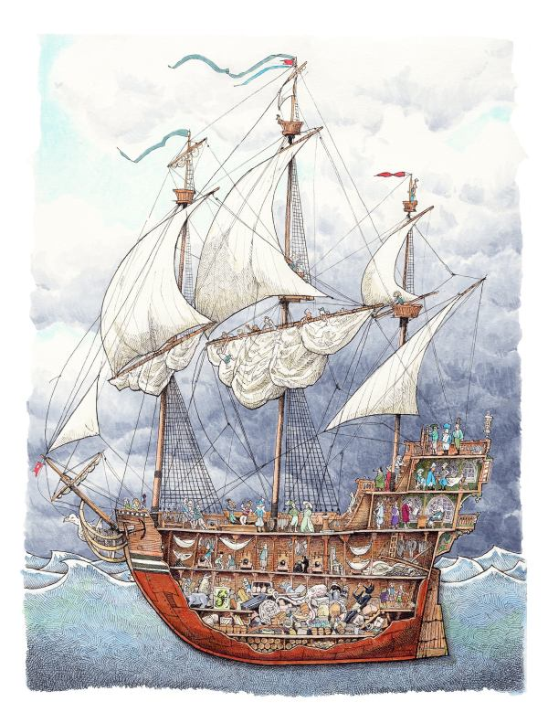 pirate ship # 57