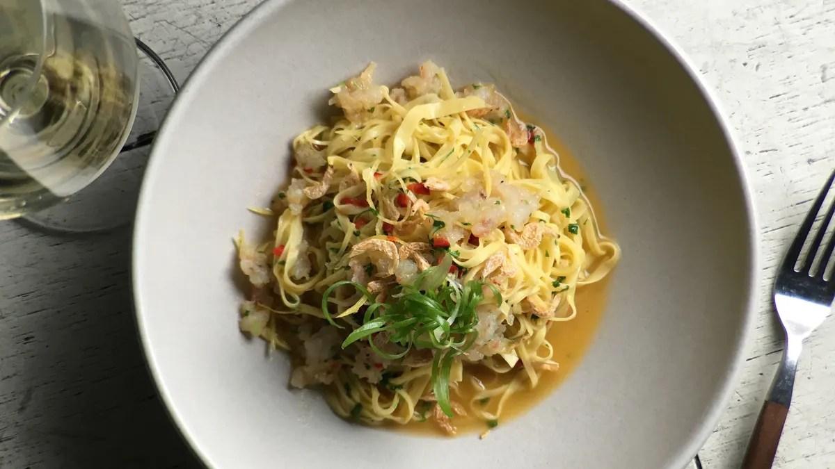 Steak And Pasta Recipe Shrimp