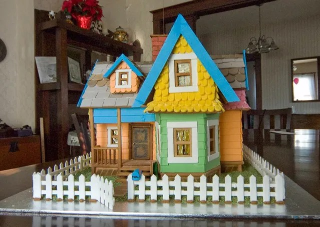 18 Extreme Gingerbread Houses Recipe Bon Appetit