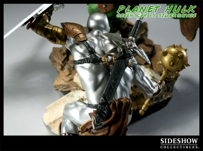 "Sideshow Planet Hulk ""Green Scar vs. Silver Surfer ..."