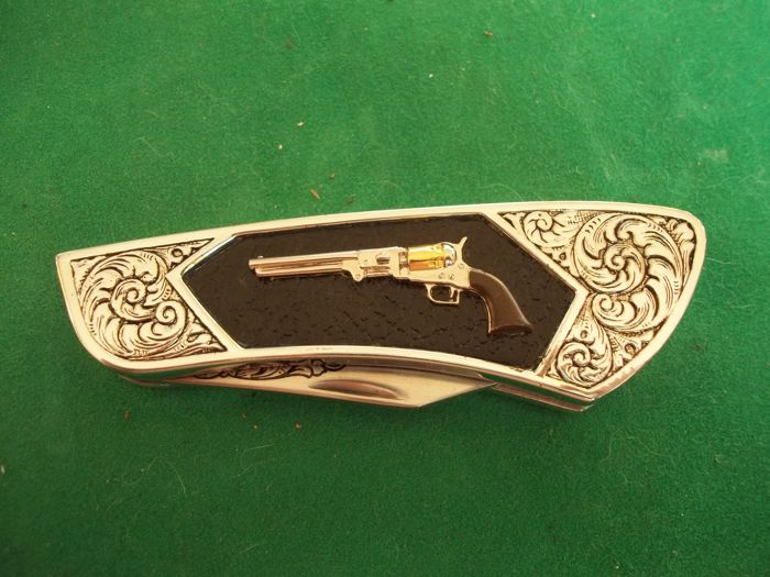 Franklin Mint Collector Knives Colt