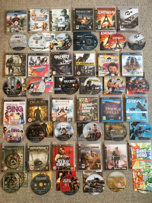 Massive bundle of SONY PS3 Games Inc Classics Like Grand Theft Auto     Massive bundle of SONY PS3 Games Inc Classics Like Grand Theft Auto IV    Red Dead