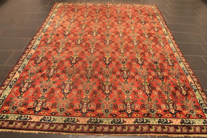 Beautiful antique old Orient carpet  Berber carpet  nomad work     Beautiful antique old Orient carpet  Berber carpet  nomad work around 210 x  280 cm