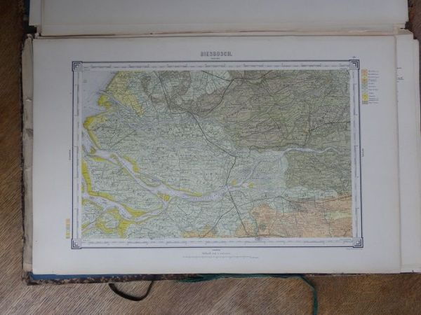 W C H  Staring   Geological map of The Netherlands  scale 1 200 000     W C H  Staring   Geological map of The Netherlands  scale 1 200 000