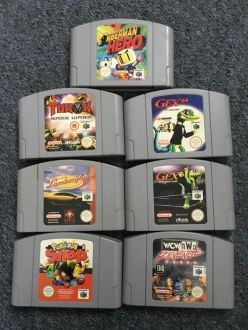 7 N64 games  some rare    Catawiki 7 N64 games  some rare