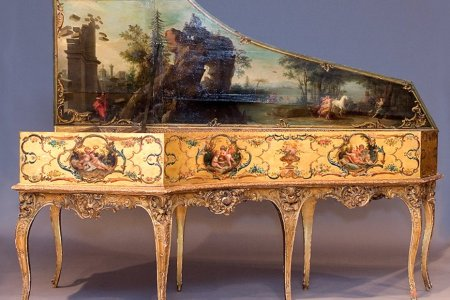 The most beautifully elaborate instruments from the Baroque   Classic FM Ruckers Harpsichord