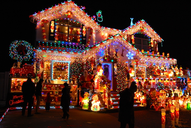 Christmas Light Display Queens New York